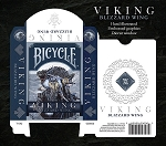 Set of 2 Viking Playing Card Decks Blizzard Wing & Iron Scale New