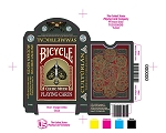 Bicycle Celtic Playing Cards Symmetrical Red Deck Brand New