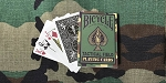 Bicycle Tactical Field Green Playing Cards Deck Brand New
