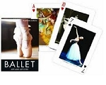 Ballet single deck By Piatnik Playing Cards
