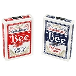 Bee Poker Playing Cards Red & Blue 12 Pack