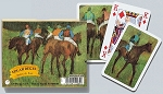 Degas Before the Race Double Deck Bridge Size Playing Cards by Piatnik