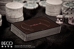 Bicycle Deco Black/Bronze by Encarded Playing Cards
