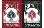 Bicycle Skull & Bones Playing Cards 2 Deck Set Ivory Finish