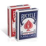 Bicycle Rider Back Playing Cards Red