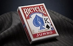 Bicycle Jumbo Index Red Playing Cards