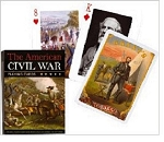 Civil War single deck By Piatnik Playing Cards