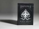 Bicycle Ghost Black Playing Cards