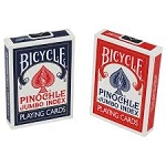 6 Decks of Pinochle Jumbo Index Playing Cards