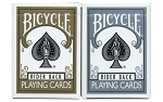 Bicycle Prestige Gold and Silver Playing Cards 2 Deck Boxed Set