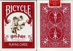 Bicycle Harry Potter Playing Card Decks W/3 Jokers Ohio Made! 1st Edition New