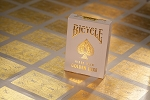 Bicycle Rider Back GOLDEN LUXE Playing Cards New Deck