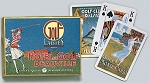 Ladies Golf Double Deck Bridge Size Playing Cards by Piatnik