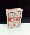 Liberty Poker (Red) Playing Cards Casino Classics Finished New Deck