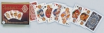 Luxury Double Deck Bridge Size Playing Cards by Piatnik