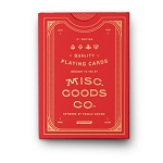Misc Goods Second Edition Red Playing Cards