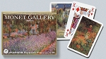 Monet Gardens Double Deck Bridge Size Playing Cards by Piatnik