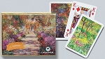 Monet Giverny Double Deck Bridge Size Playing Cards by Piatnik