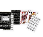 Music Double Deck Bridge Size Playing Cards by Piatnik