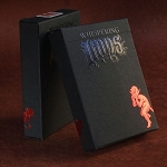 Whispering Imps Black Playing Cards