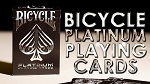 Bicycle Platinum Playing Cards