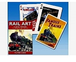 Rail Art single deck By Piatnik Playing Cards