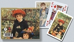 Renoir-Red Hat Double Deck Bridge Size Playing Cards by Piatnik