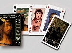 Self Portrait single deck By Piatnik Playing Cards