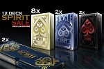 12 Decks Spirit Playing Cards on Sale