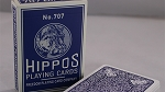 No.707 Hippos Playing Cards Deck New Sealed