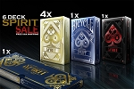6 Decks Spirit Playing Cards on Sale