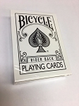 Bicycle Rider back Fashion White Playing Cards