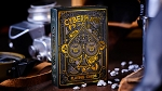 Cyberpunk Gold playing cards deck