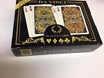 Da Vinci Harmony Playing Cards, 2-Deck Bridge size Regular index