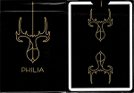Gold Philia Playing Cards Poker Size Deck