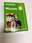 Poker Modiano Green Playing Cards