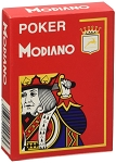 Poker Modiano Red Playing Cards