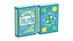 Tally Ho Fan Back Summer Playing Cards Deck