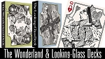 The Wonderland and Looking-Glass Playing Card