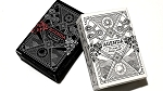 Mini Agenda Playing Cards (White) Deck