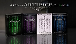 4 colors Artifice Playing Card Decks Version 2 on Sale