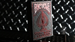 Bicycle Rider Back Crimson Luxe (Red) Version 2 Playing Card Deck