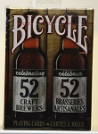 Bicycle celebrating 52 craft brewers playing cards deck