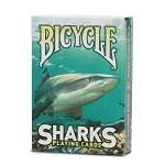 Bicycle Sharks Green Playing Cards Deck
