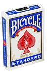 Bicycle Blue Blank Back Standard Face Playing Cards Deck