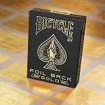 Bicycle Foil Back Gold Playing Cards Deck