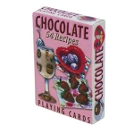 Chocolate Recipes Playing Cards