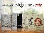 David Blaine Playing Cards Collection Set on Sale (Blacklions red,blue)
