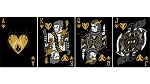 DOTA 2 Deluxe Playing Cards (Black)