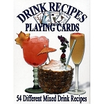 Drink Recipes Playing Cards